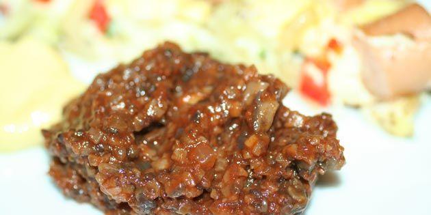 Svampeketchup - Super nemt at lave og så er det bare mere lækkert end alm. ketchup!