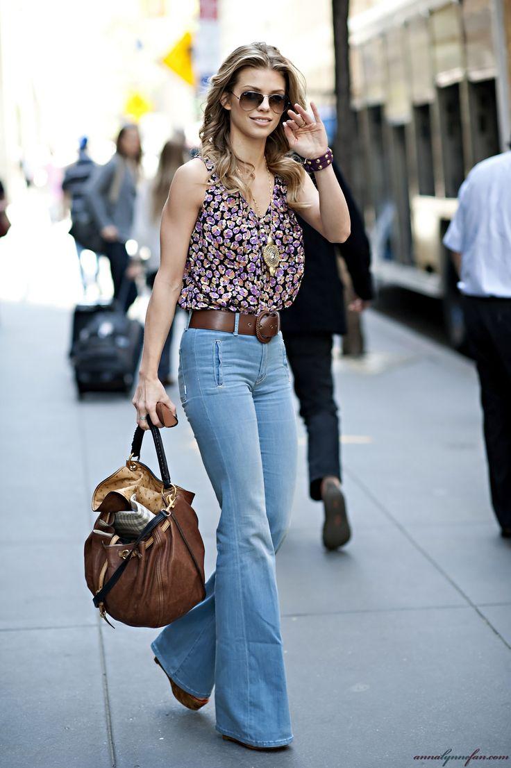 Модные джинсы клеш 2016 - фото новинки и тренды сезона