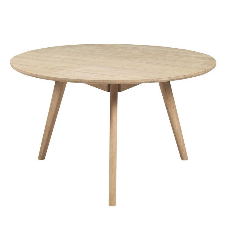 Nordik Coffee Table, Whitewash Oak, 253