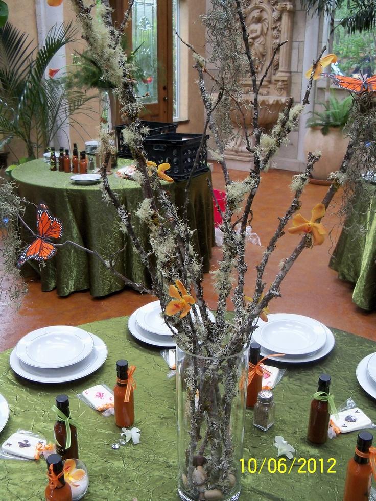 Enchanted Forest Wedding Centerpiece Ideas Best Ideas About