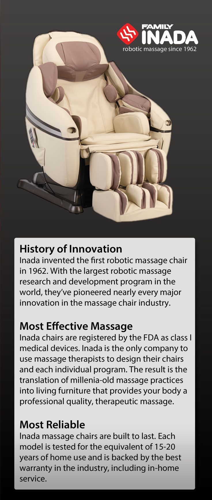 Inada Massage Chairs - Japanese Therapeutic Full Body ...
