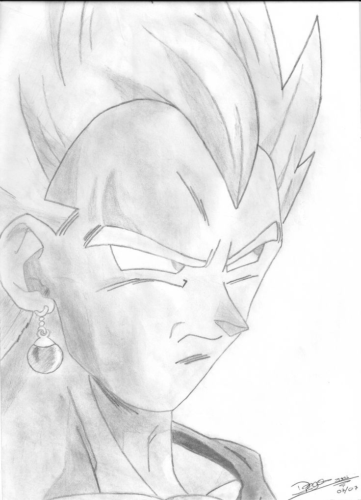 Vegetto - Dragon Ball Z