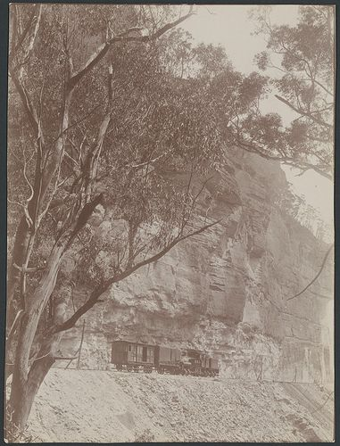 Shay [?] locomotive on the Wolgan Valley railway, New South Wales, ca. 1907 | Flickr - Photo Sharing!