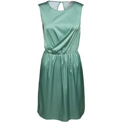 Kleid in Wickeloptik - Seine edle Note erhält das hellgrüne Kleid von EDITED durch die schimmernde Satin-Qualität. Für ein Highlight sorgt die gelayerte Partie an der Vorderseite – sie kreiert die effektvolle Wickeloptik des Styles. - ab 34,90 €