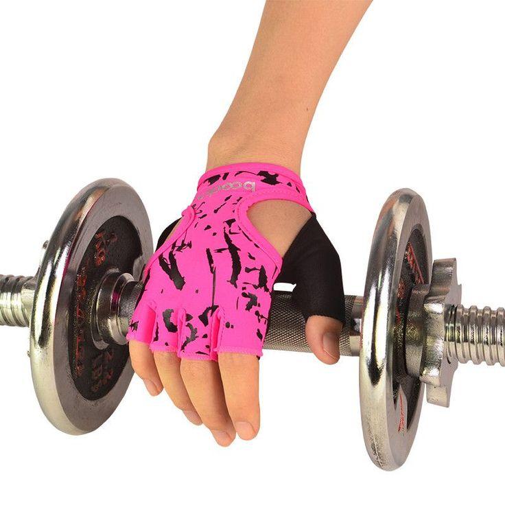 Gym Gloves Training Fitness Gloves Sports Weight Lifting Exercise Slip-Resistant Gloves For Women Yoga Gloves