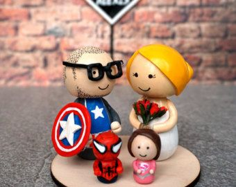 superhero family wedding cake topper 32 best wedding cake toppers images on wedding 20603