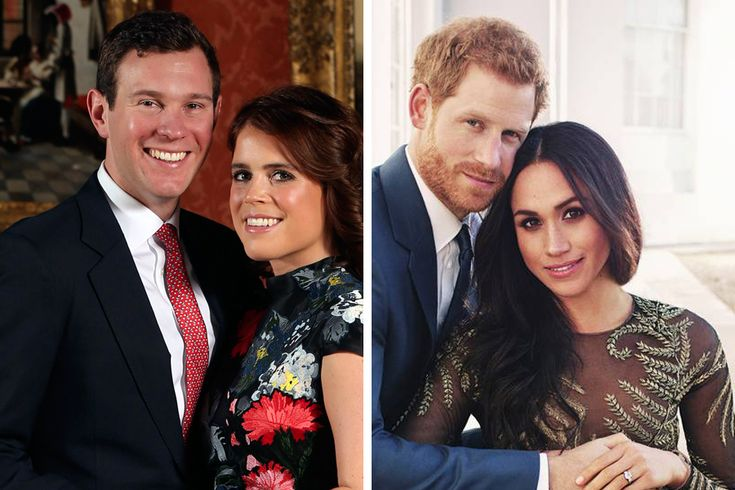 How Eugenie's engagement photos are a world away from Harry and Meghan's