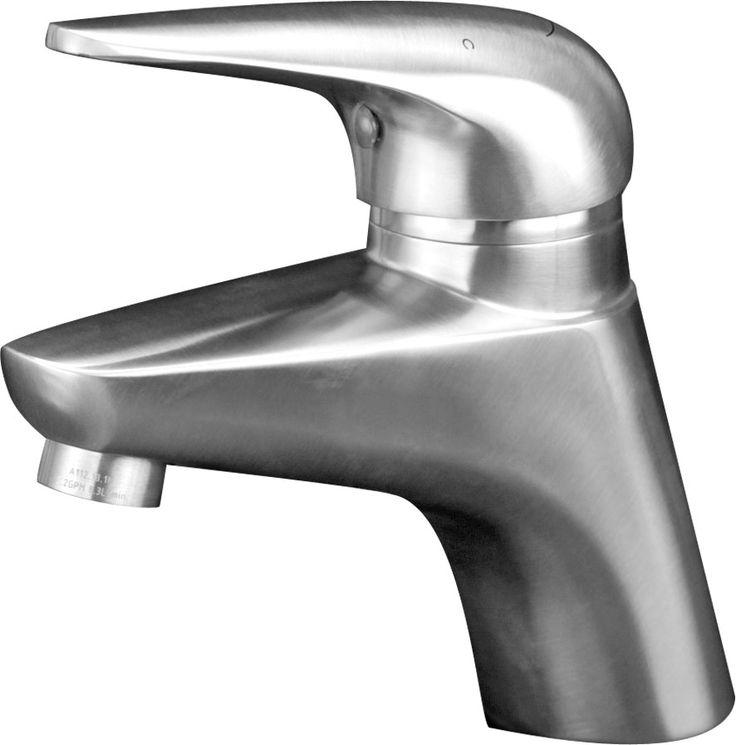Eclipse Stainless® Grifería de Baño Modelo LAV-702. 100% Acero Inoxidable.  Eclipse Stainless® Bathroom Faucet Mod. LAV-702. 100% Stainless Steel. www.eclipsestainless.com.mx