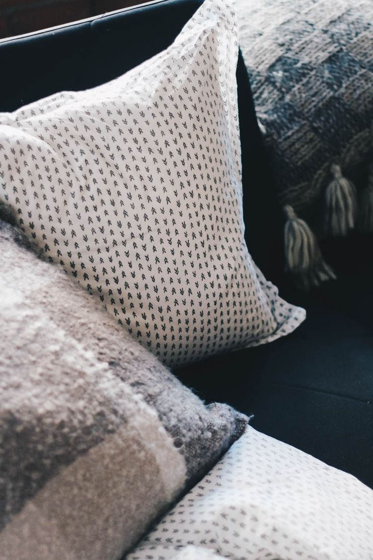 Pillows from HomeSense for the perfect home relaxation