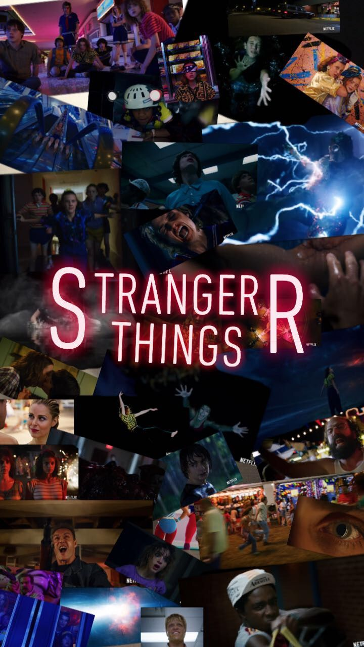 Made This On Snapchat Strangerthings3 Netflix Papel De Parede