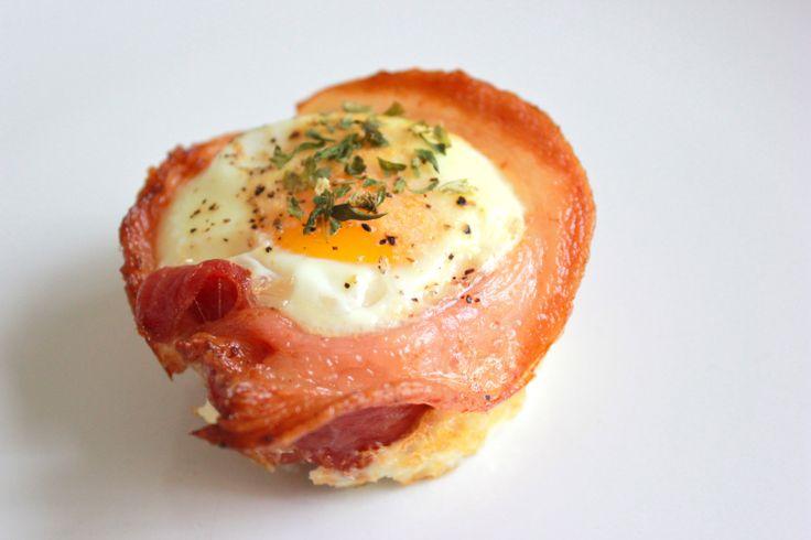 Bacon Egg Cups - grace(full)eats