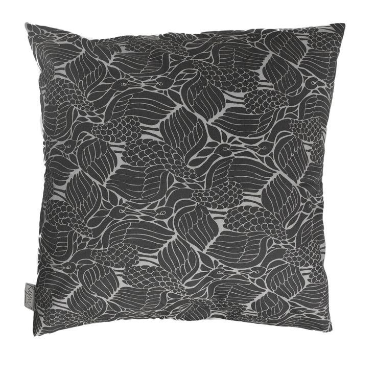 Cuckoo's Nest Grey Cushion Cover