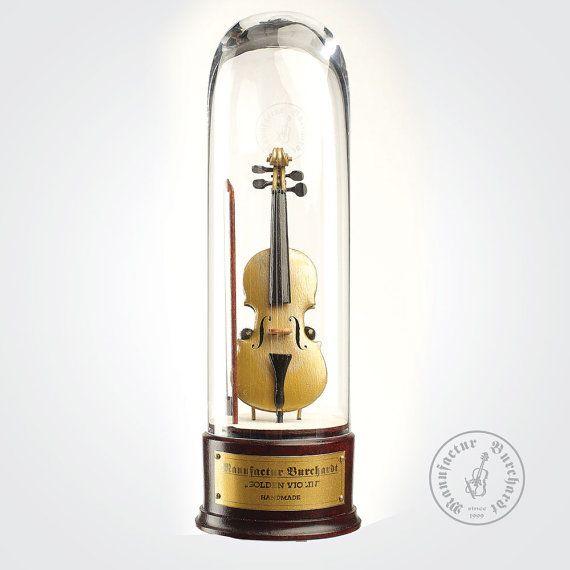 Handmade miniature instrument  Golden by ManufacturBurchardt