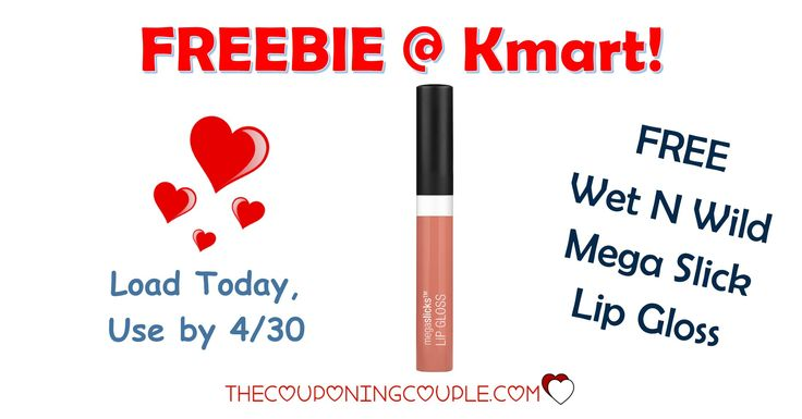 It's the KMART FRIDAY FIX! Get an ecoupon for FREE WET N WILD Mega Slick Lip Gloss! Get the ecoupon now!  Click the link below to get all of the details ► http://www.thecouponingcouple.com/kmart-friday-fix/ #Coupons #Couponing #CouponCommunity  Visit us at http://www.thecouponingcouple.com for more great posts!