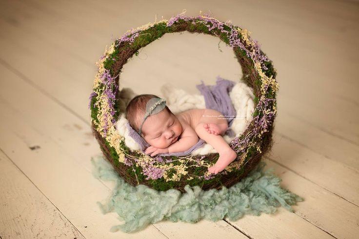 Photography props newborn props baby bowl newborn basket
