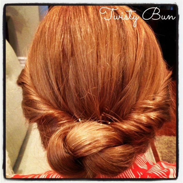 How to Make a twisty bun and other hair do tutorials