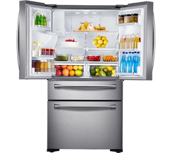 rf24fsedbsr fridge freezer real stainless