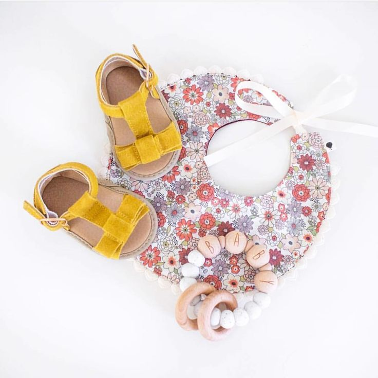 Mustard summer sandals in soft sole available at Sadie Baby