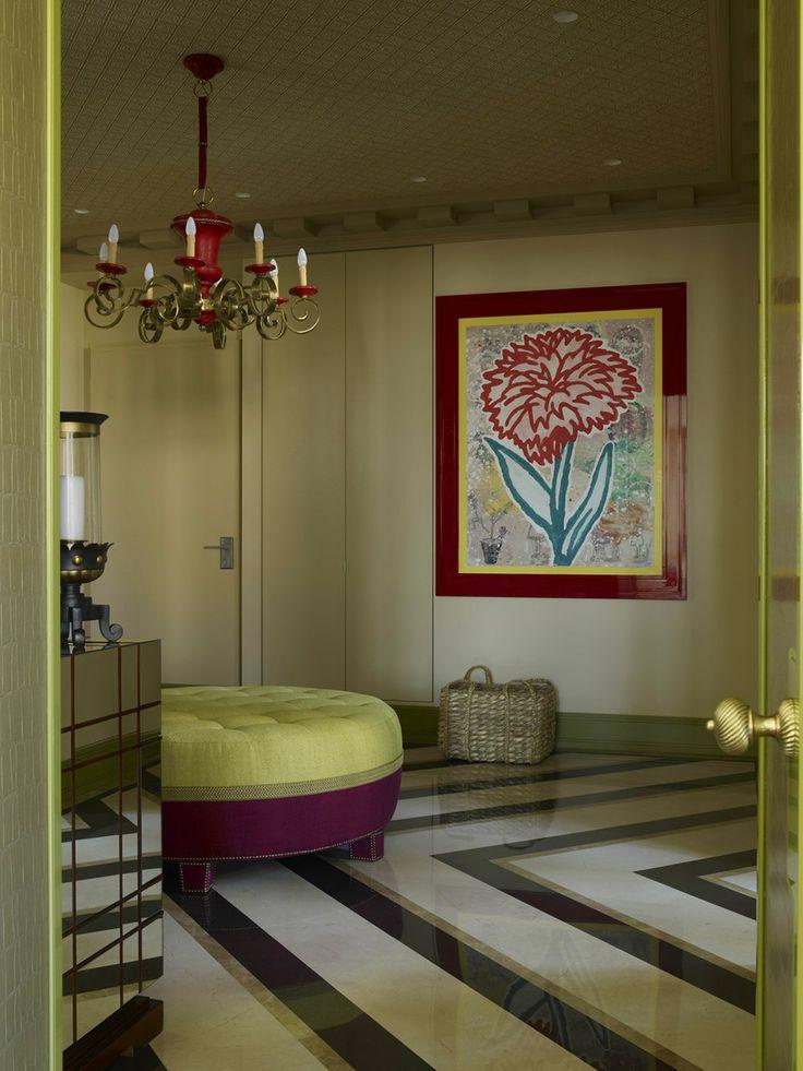 stunning dramatisches weises interieur design beeinflusst escher ... - Eklektischen Stil Einfamilienhaus Renoviert