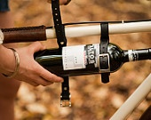 Bottle Belts...really? You can't go wrong with a wine bottle carrier for your bike