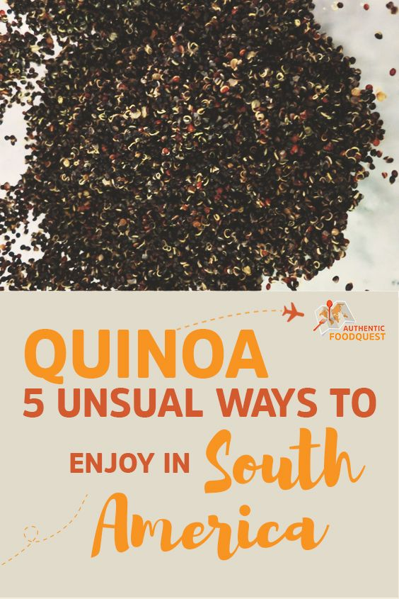 The history of quinoa is in South America and in particular the Andes region which includes Argentina, Bolivia, Chile, Columbia, Ecuador and Peru. This grain was first grown in Bolivia, but today Peru is the largest producer. These two countries produce about 95% of all commercially grown quinoa.
