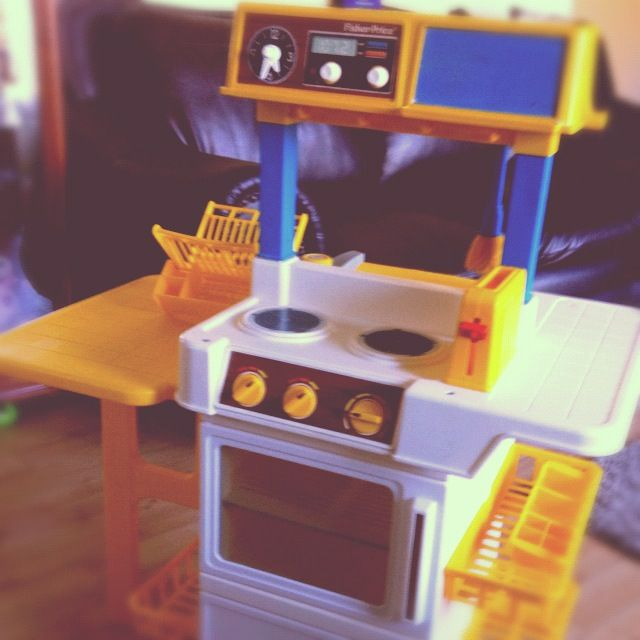 Pin by casey flint on blast from the past pinterest for Kitchen set for 4 year olds
