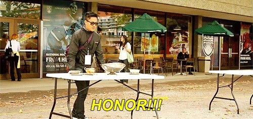 A favourite event at Anime Evolution 2013 and Cos & Effect 2013!  Table Flip for Charity will definitely be at NWFF.  (Dante Basco at Anime Evolution).