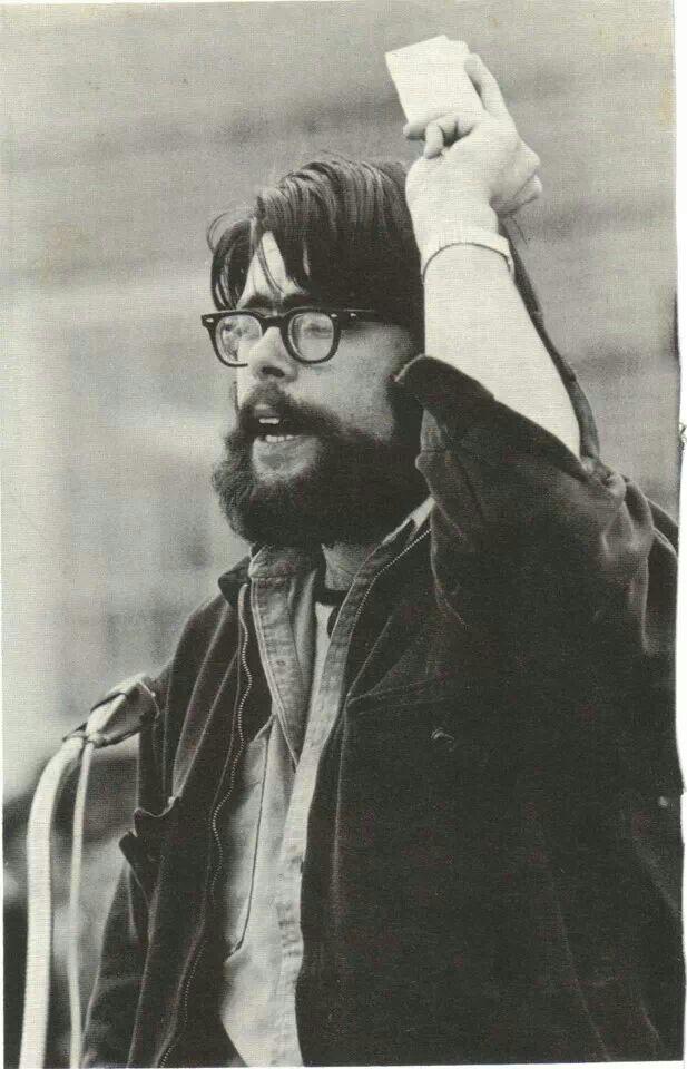 Stephen King Univ. of Maine yearbook photo
