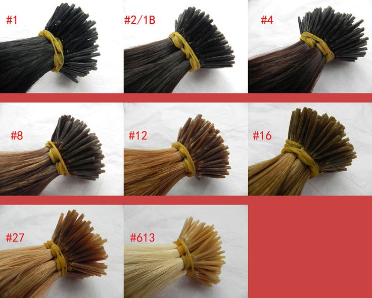 """100S 26""""100% Real Human Hair Extensions Keratin Stick I Tip Black, Brown, Blonde #Unbranded"""