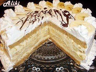 Mamina jela: Nepecena torta sa bananama