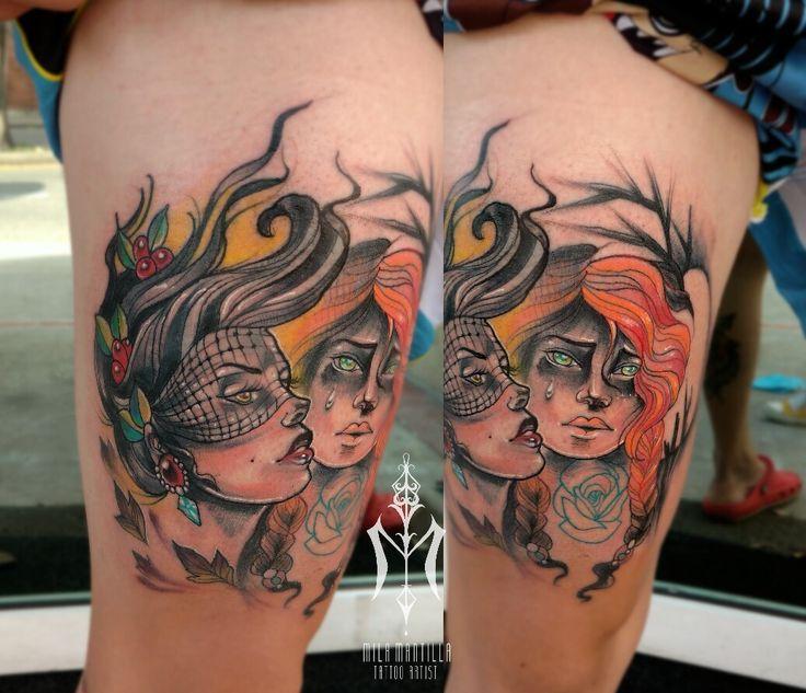 #tatts #work #tattooideas #inkeup #womantatts #mila.mantilla