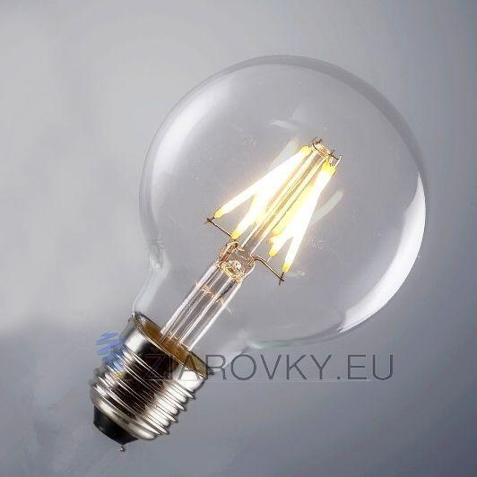 FILAMENT žiarovka je rustikálneho vzhľadu a poskytuje krásne kultivované svetlo s perfektnou reprezentáciou farieb. Žiarovka dokáže vykúzliť fantastické osvetlenie pre zlepšenie nálady. Vďaka štandardnej pätici E27 ju môžete použiť do akéhokoľvek lustra, lampy ktorá má túto päticu. Vďaka svojmu dizajnu sa táto žiarovka hodí ako diskrétne efektné osvetlenie na večerné posedenie. www.ziarovky.eu