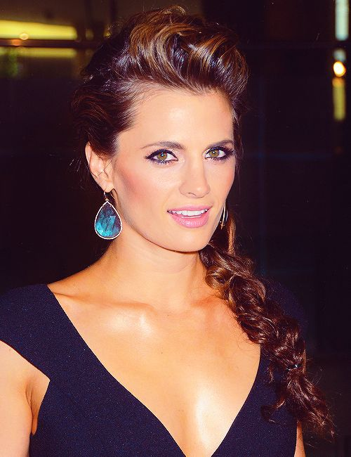 Stana Katic as Ally Nightingale (Ren thinks she is the spitting image of her)