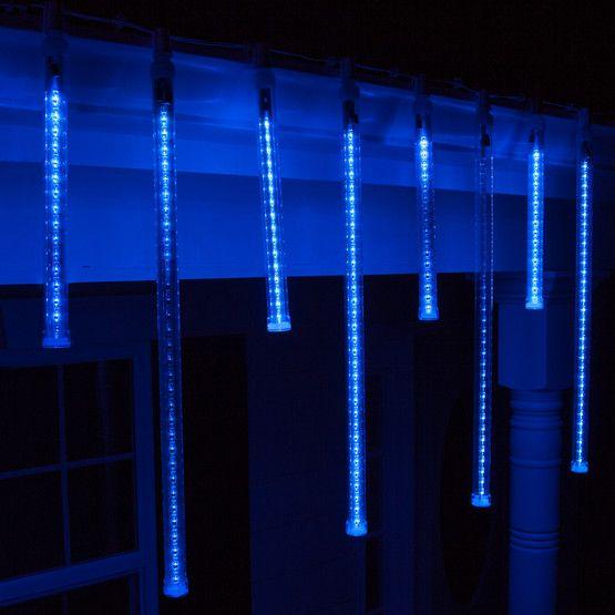 t8 blue grand cascade led light tubes e17 base - Blue And White Led Christmas Lights