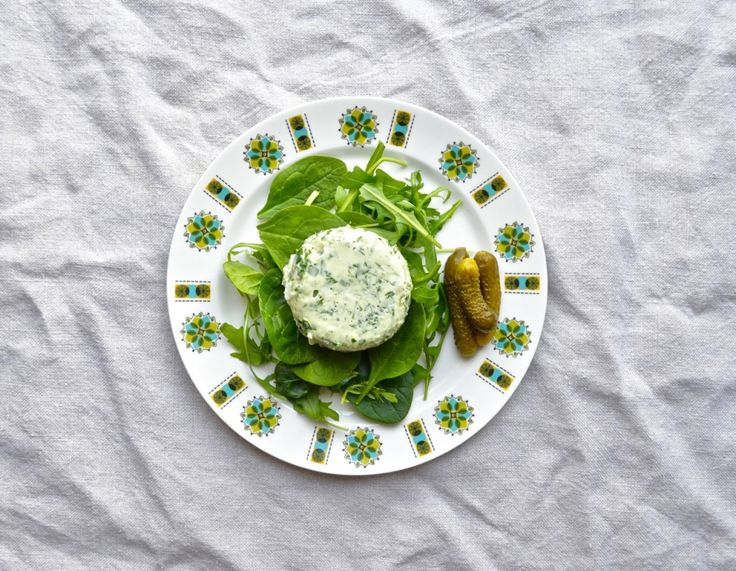 Watercress & Egg Mousse