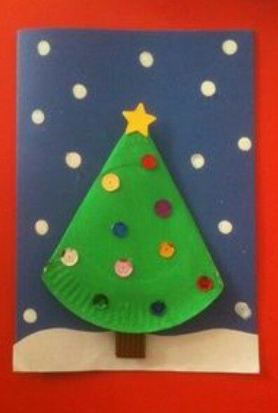 Paper plate tree