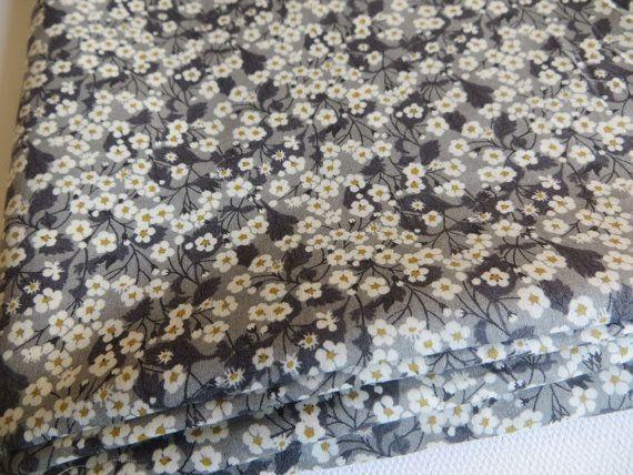half a meter Mitsi Valeria Tessuti Tissus au metre Tana Lawn Tecidos Telas Fabric Liberty of London Floral cotton by FitaDeVies