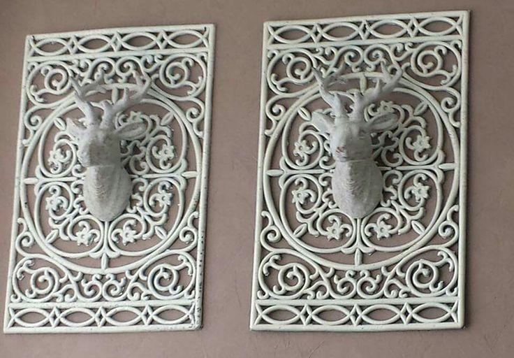 Action-hertenkop en deurmat