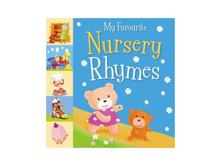 My Favourite Nursery Rhymes. Autor: Sanja Rescek Nakladatelství: Little Tiger Press Počet stran: 24 Vazba: Tvrdá Rozměry: 223 x 221 mm