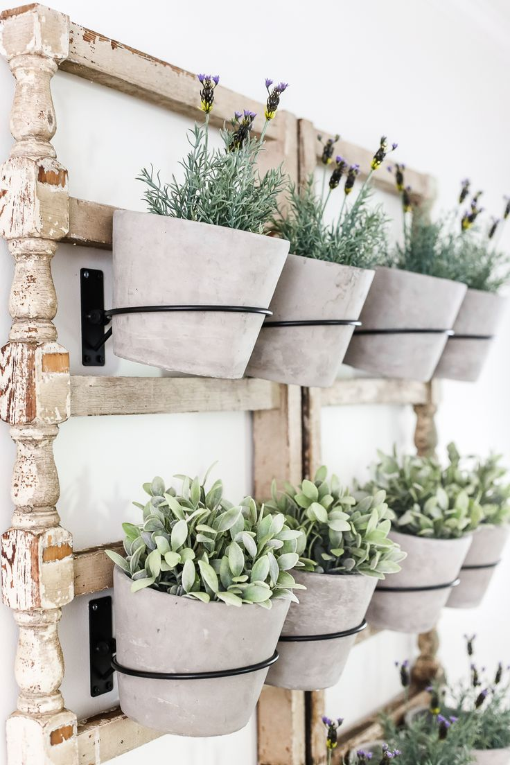 Antique Banister Wall Planter 2274 best Wall