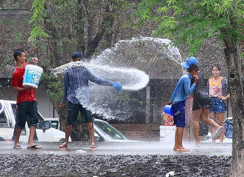 Get Your Water Gun Ready for the Songkran Festival of 2013