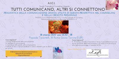 SCUOLA COUNSELING  GRUPPI  A.I.C.I Roma Counseling :   FORMAZIONECRESCITA PERSONALE E COMUNICAZIONERO...