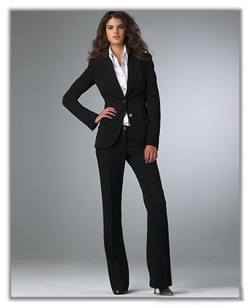 Ladies Dress for the Office, Love this.: Business Woman, Business Fashion, Style,  Suits Of Clothing, Business Attire, Black Suits, Business Casual Attire, Business Suits, Business Outfits