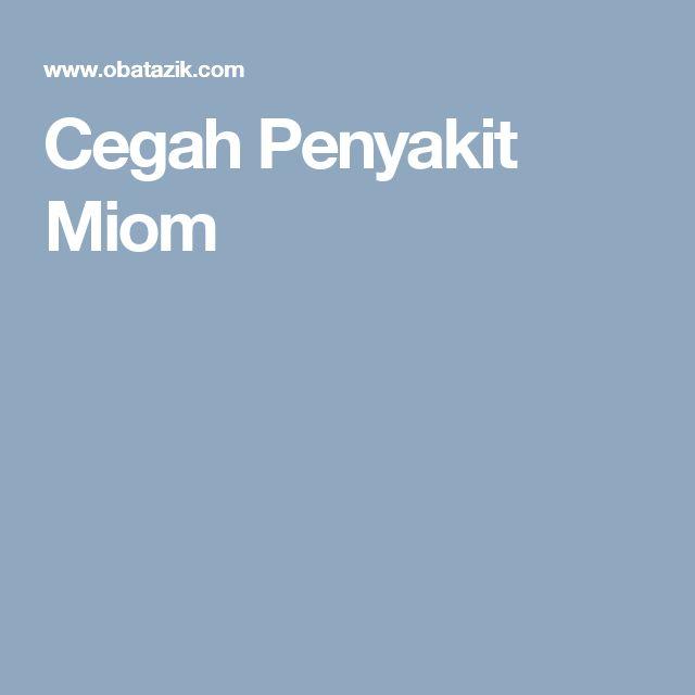 Cegah Penyakit Miom