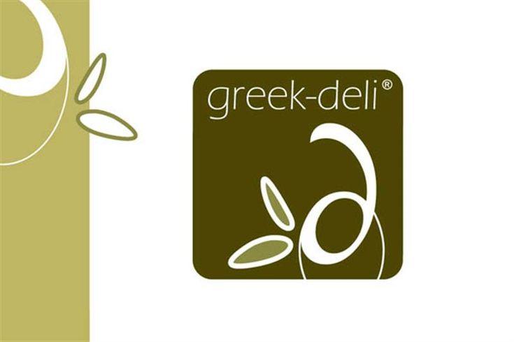 Σχεδιασμός του λογοτύπου για το ηλεκτρονικό κατάστημα Greek Deli, με ελληνικά…