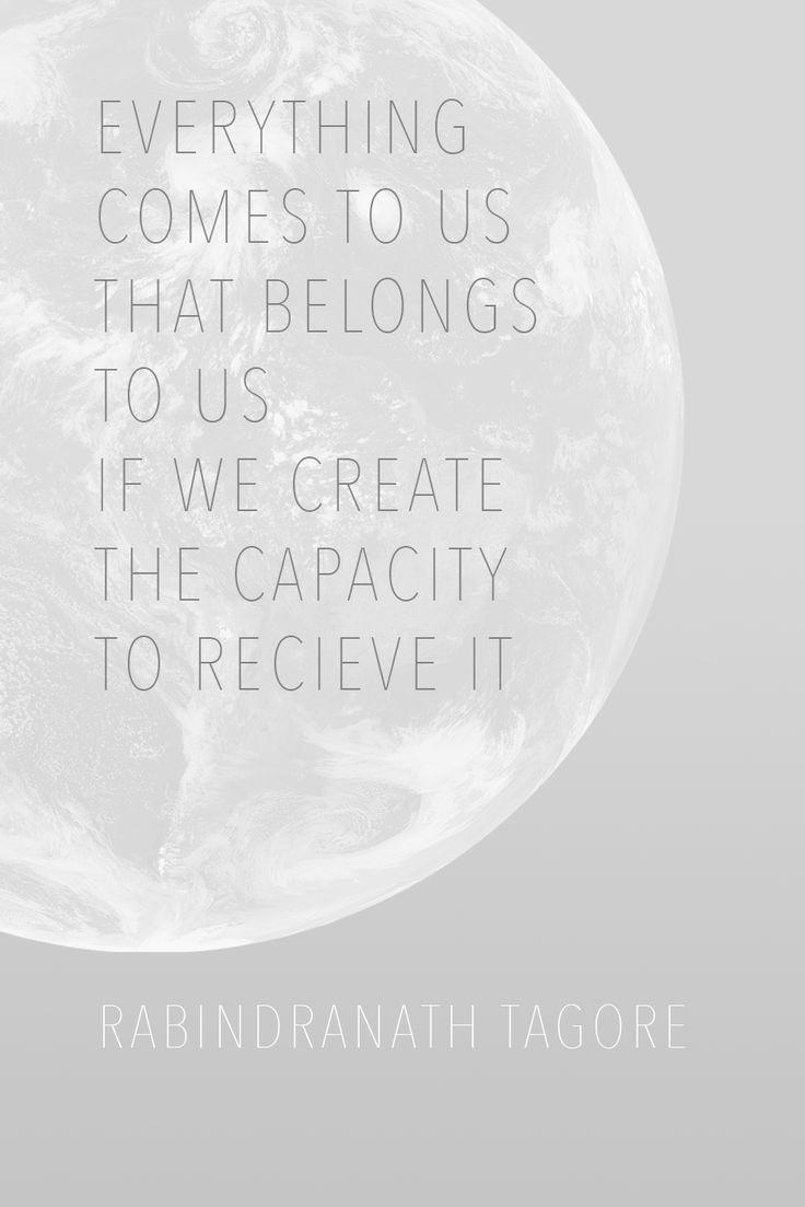 Rabindranath Tagore #Quote