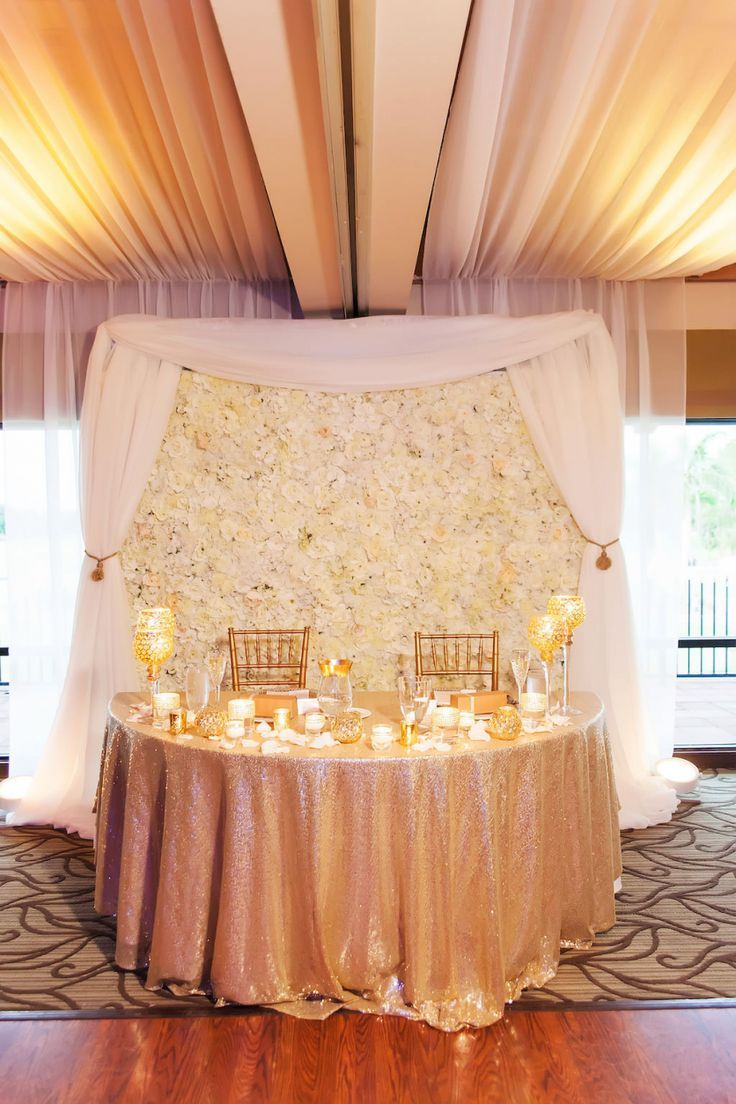 Glamorous Gold Champagne And Blush Clearwater Wedding Wedding