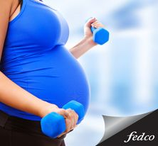 Antes, durante y después del embarazo es aconsejable realizar rutinas suaves para mantener un peso ideal. http://fedco.uberflip.com/i/502044-catálogo-temporada-madres-2015