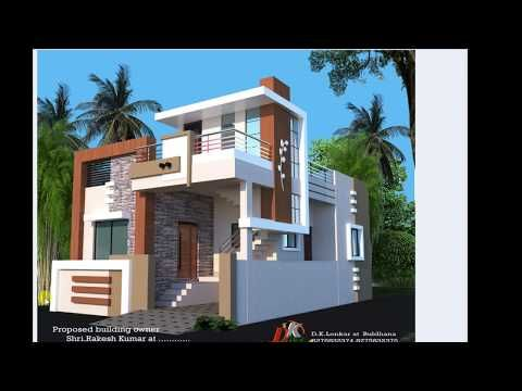 25x40 Ft Best House Plan And Front Elevation Youtube Duplex House Design Modern House Design Small House Elevation Design