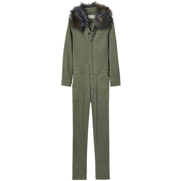 Bennet Jumpsuit in Camo ($795) ❤ liked on Polyvore featuring jumpsuits, jump suit, camouflage jumpsuit and camo jumpsuit